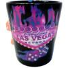 Electric Pink Las Vegas Souvenir Shot Glass w/Dice