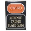 Downtown Grand Las Vegas Poker-Black Jack Playing Cards.