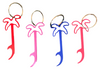 Red, Purple, Blue, Pink color choices for the Las Vegas Bottle Opener Palm tree design keychain.