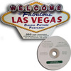 DVD with a unique cardboard case for easy storage. Case is colorful replica of the Las Vegas Welcome Sign.