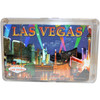 This deck features our Purple Spotlights design which shows Vegas Casinos on a colorful Purple Skyline background. New Playing Cards in a Clear Box for Storage.