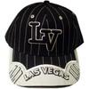 Las Vegas Souvenir BLACK Stripe Baseball Cap