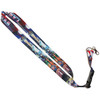 Colorful Las Vegas Lanyard with strong clip in our Flag souvenir design.