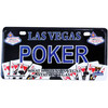 Las Vegas License Plate Magnet- POKER gift-shop