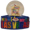 Las Vegas FUN Mounted Snowglobe- BLUE