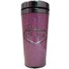Las Vegas Travel Mug- Pink Stainless Steel-16oz