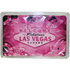 Vintage Vegas Dark Pink Playing Cards