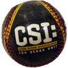 Black CSI themed Las Vegas Baseball with Red Stitching.