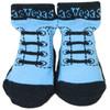 Las Vegas Baby Vegas Socks Blue w/Black