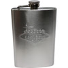 TALL Las Vegas Flask- Embossed Design