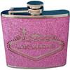 Pink Glitter Las Vegas Flask Souvenir-Gift