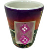 """LV Sunset"" Ceramic Shotglass"