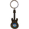Middle Spins on this Guitar Shaped Las Vegas Key Chain.
