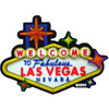 Colorful Las Vegas Sign Laser Cut Rubber Magnet