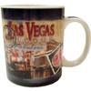 "Las Vegas Souvenir ""Postage Stamp"" Design Mug-10oz"