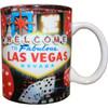 Red Dice Las Vegas Standard Mug Souvenir -11oz