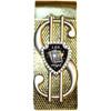 Golden Blackjack Las Vegas Souvenir Money Clip