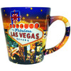 LV Glitter Stars 12oz Taper Mug with Inside Print