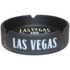 Side of the Las Vegas Black Let the Good Times Roll design ashtray.