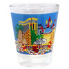 Inexpensive Las Vegas Shotglass Souvenir