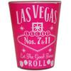 Pink Whisky Las Vegas Shot glass