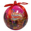 Ball Las Vegas ornament in a pretty Pink Skies design.