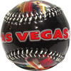 Red lettering Las Vegas on this Unique Design Vegas Themed Baseball