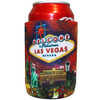 Las Vegas Fireworks Can Coozie with Can inside.