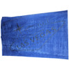 Las Vegas Beach Towel in Blue with Las Vegas Sign muted in Gray