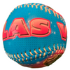 Blue Baseball with a colorful Las Vegas Pink font.