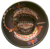 Black Background Las Vegas Scene Mug inside View of design.