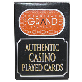 Downtown Grand Las Vegas Poker-Black Jack Playing Cards.