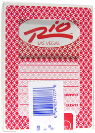 Playing Cards from the Black Jack or Poker Tables in Las Vegas; Rio Casino