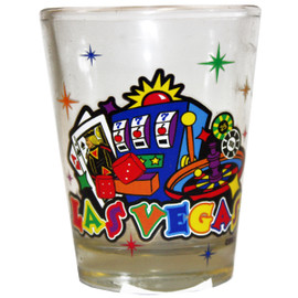 Slot Gaming Las Vegas Shot Glass