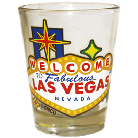 Las Vegas Sign Shot Glass