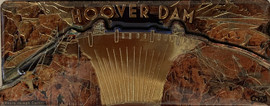 3D Magnet of the Hoover Dam Souvenir