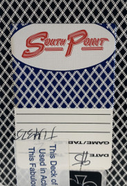 South Point Casino Las Vegas Used Black Jack-Poker Playing Cards.