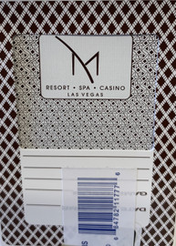 M Resort Las Vegas Poker-Black Jack Playing Cards.
