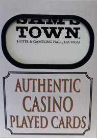 Sam's Town Las Vegas Poker-Black Jack Playing Cards.