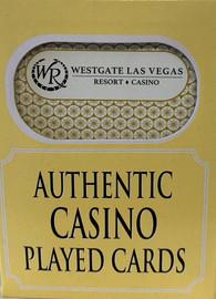 Westgate Resort  Las Vegas Poker-Black Jack Playing Cards.