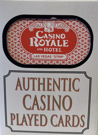 Casino Royale Las Vegas Poker-Black Jack Playing Cards.