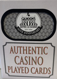 4 Queens Las Vegas Poker-Black Jack Playing Cards.