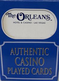 The Orleans  Las Vegas Poker-Black Jack Playing Cards.
