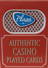 The Plaza Las Vegas Poker-Black Jack Playing Cards.