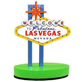 Mini Las Vegas Sign that lights up. Colorful and Fun souvenir