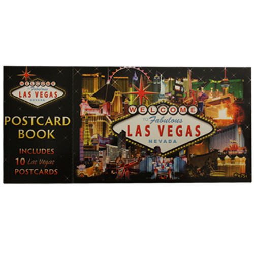 Las Vegas Hotel Collage Postcard Pack of 10