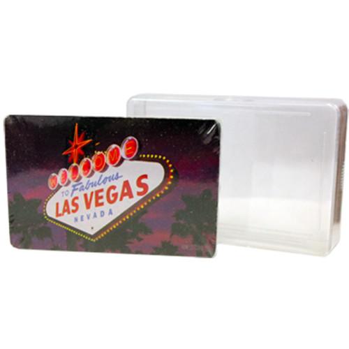 Playing Cards- Las Vegas Sign @ Dusk