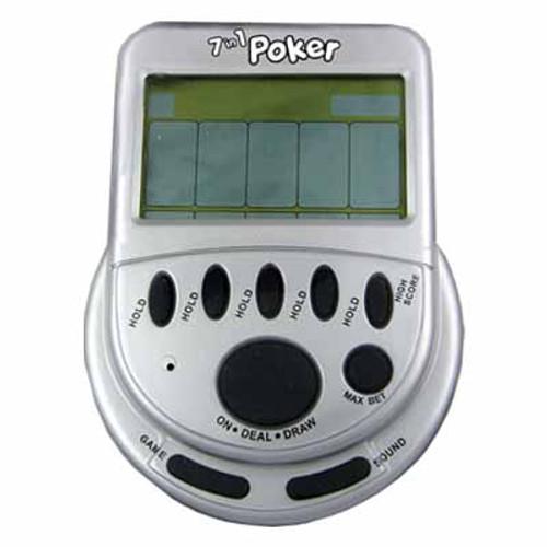 """""""Mega"""" Screen 7 in 1 Poker"""