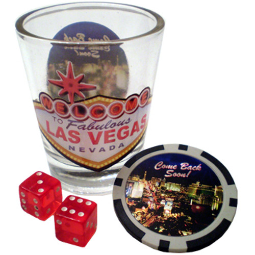 Got It All Vegas Shot Glass