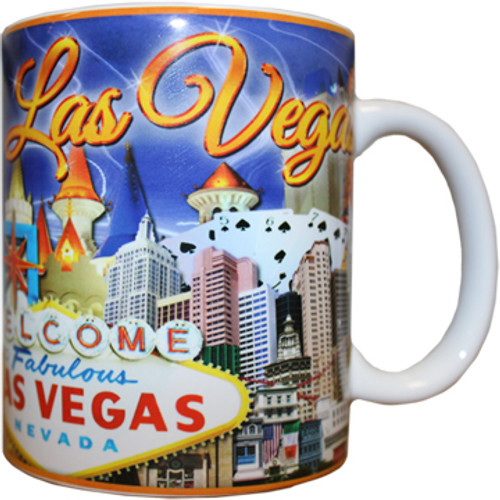 Purple Sky Las Vegas Souvenir Mug -11oz.